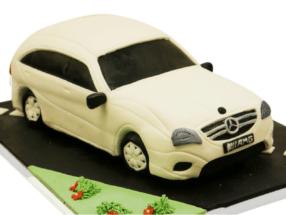 3D Auto Torten