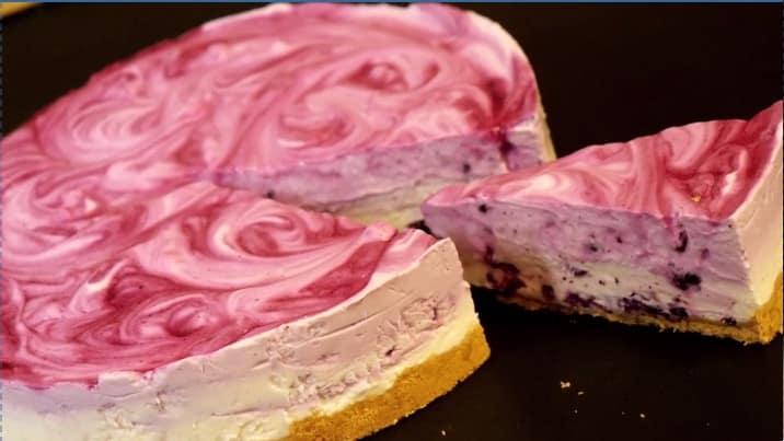 Lektion 04 - Blaubeer-Joghurt Torte