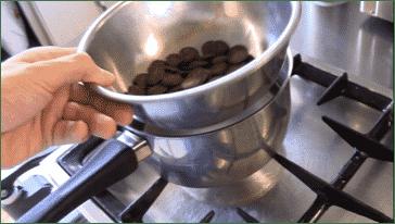 Lektion 04 - Schokolade auflösen auf dem Wasserbad