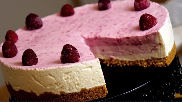 Lektion 05 - Himbeer Mascarpone Torte