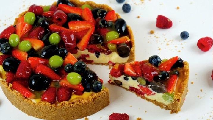Lektion 07 - Beeren Pudding Torte