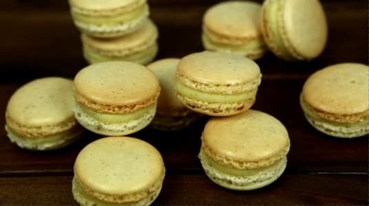 Lektion 10 - Vanille Macarons
