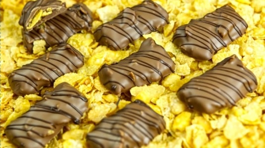 Lektion 12 - Caramel Cornflakes Pralinen