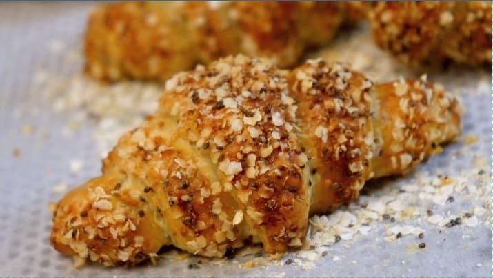 Lektion 12 - Chia Superfood Croissants