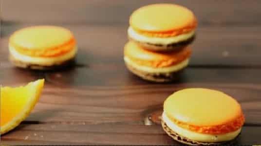 Lektion 13 - Orangen Schokoladen Macarons