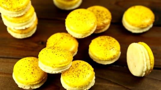 Lektion 15 - Bananen Joghurt Macarons