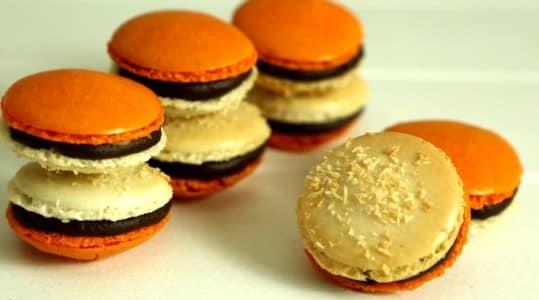 Lektion 16 - Kokos Mango Macarons