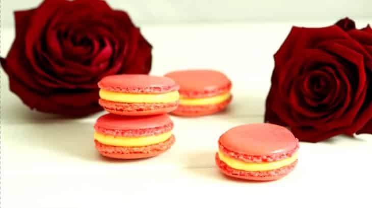 Lektion 17 - Rosenwasser Macarons