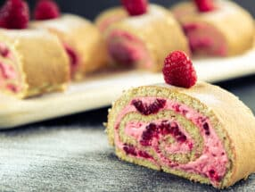Himbeer Roulade