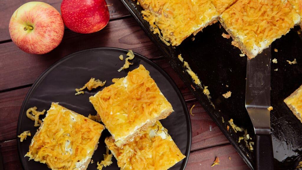 Apfel Blechkuchen