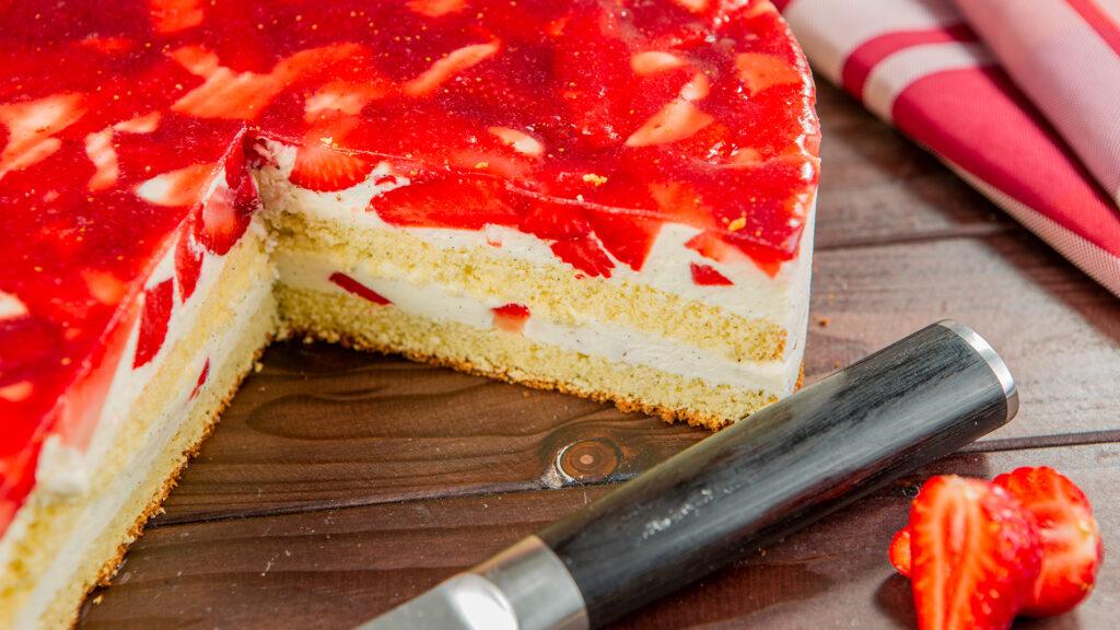 Erdbeere Vanille Torte