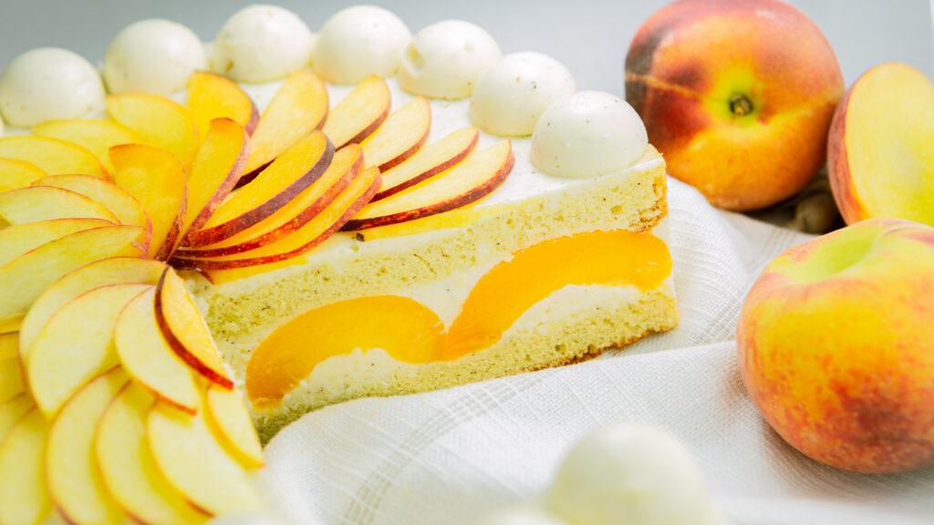 Peach Royal Torte